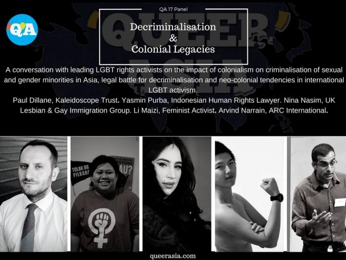 Decriminalisation and Activism